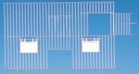 VG Außenfütterung mit Nistkastentür 40 x 30cm