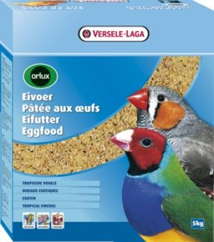 Orlux Eifutter trocken Exoten, 5 x 1000gr. Karton
