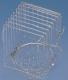 Drahtkaisernest, 9cm Durchmesser, 15x10x10cm