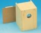 Exotennistkasten, Holz, 12x13x18cm ( Restbestand )