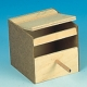 Exotennistkasten, Holz, 15x14,5x15cm