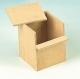 Exotennistkasten, Holz, abdrehbarer Deckel, 11,5x11,5x15cm ( Restbestand )