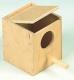 Exotennistkasten, Holz, 11x11x13cm
