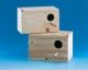 Wellensittichnistkasten, Fichtenholz, 24x14,5x14,5cm