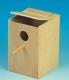 Sittichnistkasten, Holz, 15x16x23cm ( Restbestand )