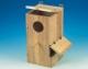Papageiennistkasten, Hartholz, senkrecht, 30x30x61cm
