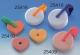 Salzleckstein in Herzform à 30g, 3er Pack, mit Halterung