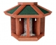 Natura Futterhaus mit Silo, halbrund 45x32x21cm