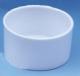 Futter- und Wassernapf, weiss, rund, 7cm