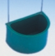 Halbrundnapf, grün, für Wellensittichausstellungskäfig