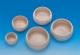 Keramik-Futternapf, 1/4 Liter, beige