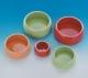 Keramik-Futternapf, 1/2 Liter, orange